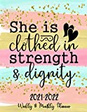 She is clothed in strength & dignity:...