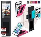 reboon Hülle für Archos 55 Helium Ultra Tasche Cover Case Bumper   Pink   Testsieger