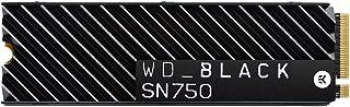 WD BLACK SN750 1TB NVMe Internal Gaming SSD with Heatsink - Gen3 PCIe, M.2 2280, 3D NAND - WDS100T3XHC