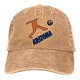WH-CLA Gorras Beisbol Bandera De Arizona Fútbol Fútbol Vaquero Vintage Mujeres Hombres Sombrero De Papá Deportes Al Aire Libre Sombreros De Camionero Gorra De Béisbol Gorra De Béisbol PES