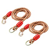 Startostar Adjustable Tree Swing Rope Hammock Straps, 2 Pcs 70 inch Extension Conversion Rope Suspension Kit