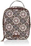 Vera Bradley Women's Signature Cotton Lunch Bunch Lunch Bag, Mahogany Medallion, One Size