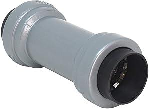 "Southwire R-CP-100 1"" Rigid & IMC Push Install Bulk Pack RMC Coupling, Gray"