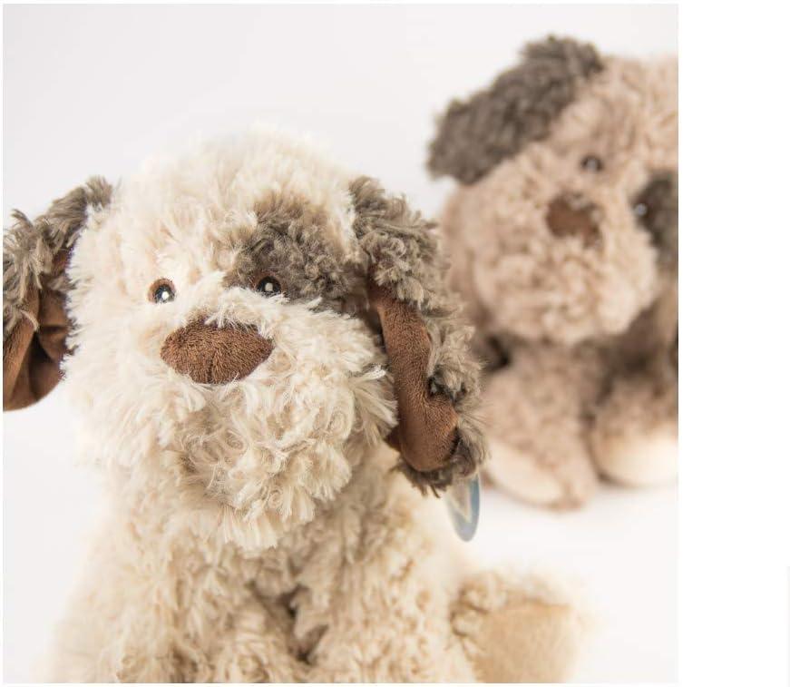 Kaastoys 3053372 Kuscheltier Hund Stofftier Plüsch Tier braun 30 cm