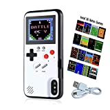 QKArrow Gameboy Case for S10, Retro S10 Case with 36 Small Games, Color Display Game Case for Samsung S10