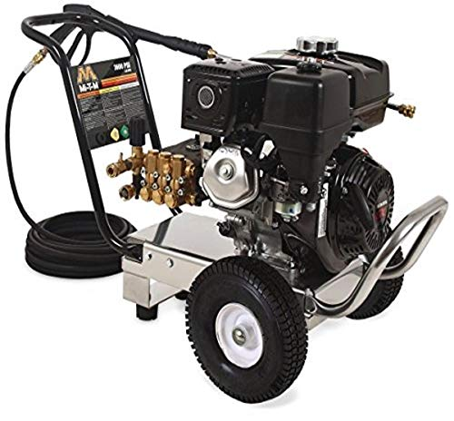 Mi-T-M WP-3600-0MHB WP (Work Pro) Series Pressure Washer, Gasoline Direct Drive, 3600 psi, 2.8 GPM, 270 cc Honda OHV Engine