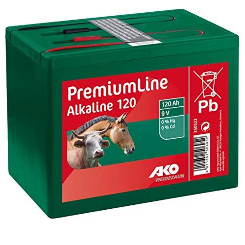Kerbl AKO Batterie Alkaline 9 V, 120 Ah