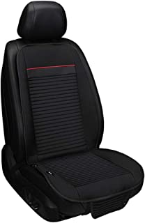 Almohadilla de asiento de espuma con memoria - Asiento de aire acondicionado, cojín para asiento de automóvil cómodo Cubre almohadilla cojín universal para coche Disipación de calor transpirable 12V