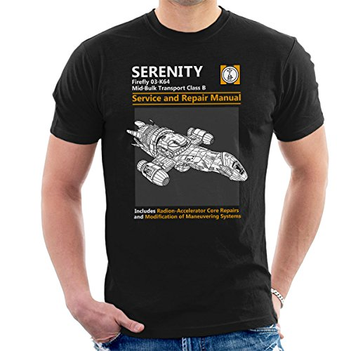 Firefly Serenity Service and Repair Manual Men's T-Shirt