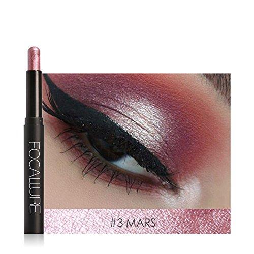Semme Fard à paupières Pen, 12 Couleurs Ombre Pen étendu vers à Soie Traceur de bâton cosmétique de Maquillage Outil(#3)