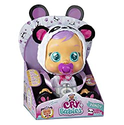 Set includes: One Cry Baby with a dummy Cry Babies cry real water! Each Cry Baby comes with a cute onesie! They cry when you take away their dummy! They are the cutest baby if they have their dummy!