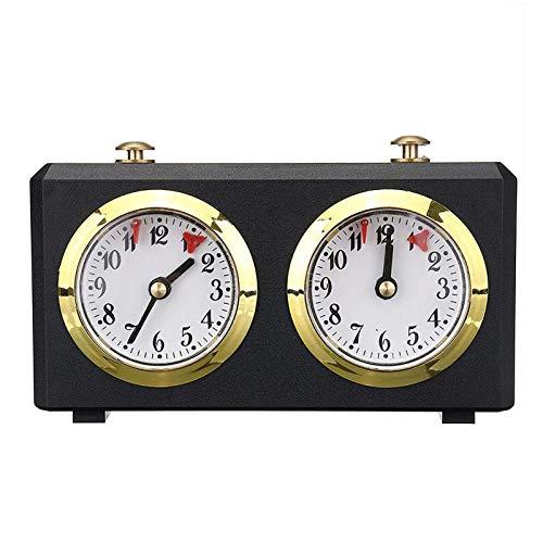 Schach-Timer-Uhr Offizielle, professionelle digitale Schachuhr-Timer-Analoguhr, internationale Countdown-Uhr für Schachbrettspiele, Zählung der Zwischenzeit für den Turnier-Brettspielwettbewerb
