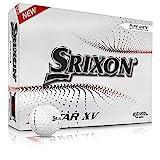 Nuevas Srixon Z Star XV 7 White - Docena de bolas de Golf de Alta Gama - Nivel Tour - Rendimiento - Uretano - 4 piezas - Accesorios de Golf y Regalos Premium