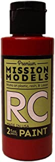 Mission Models Automobile Mmrc-054 Water-Based RC Paint 2 Oz Bottle Translucent Red