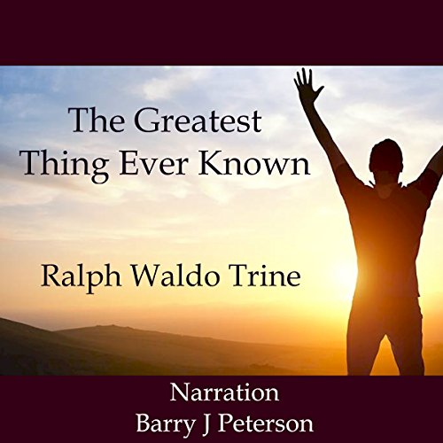 The Greatest Thing Ever Known audiobook cover art