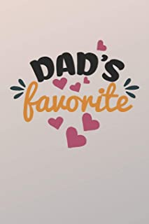 Dad's Favorite: My Dad Hero (6x9 Dad Journal)