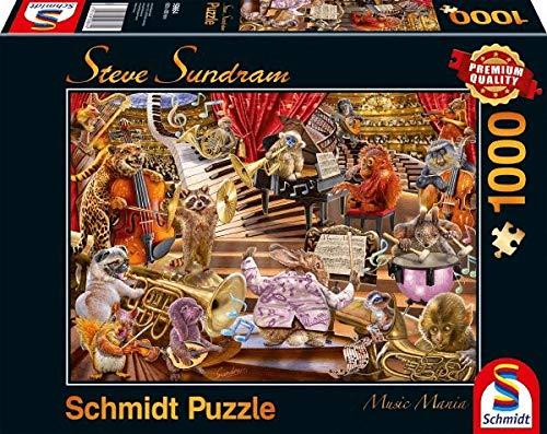Schmidt 59664 Steve Sundram Music Mania Jigsaw Puzzle (1000 Piezas)