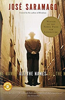All the Names by [José Saramago, Margaret Jull Costa]