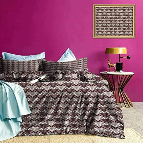 Tagesdecken Bettdecke Spiral Abstract Stripes Art Bettwäsche-Set zum Schutz Ihrer Bettdecke