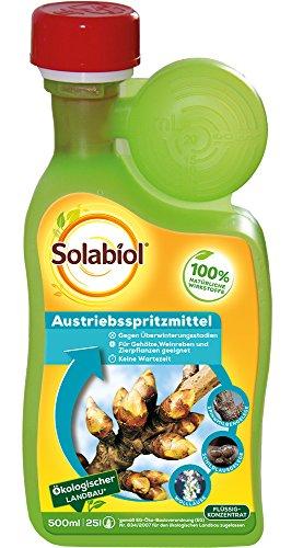 Solabiol Austriebsspritzmittel, gegen überwinternde Schädlinge wie Spinnmilben, Schildläuse und Wollläuse an Obst- und Ziergehölzen, 500 ml