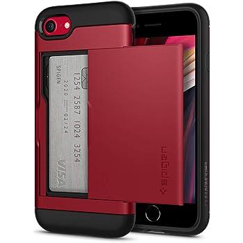 Spigen Slim Armor CS Designed for iPhone SE 2020 Case/Designed for iPhone 8 Case (2017) / Designed for iPhone 7 Case (2016) - Red