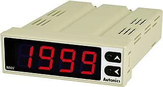 AUTONICS M4V Meter, Graphic Panel, LED, W75xH25mm, 4-Digit, DC Volts & DC mA Input, Scaling, 12-24 VDC