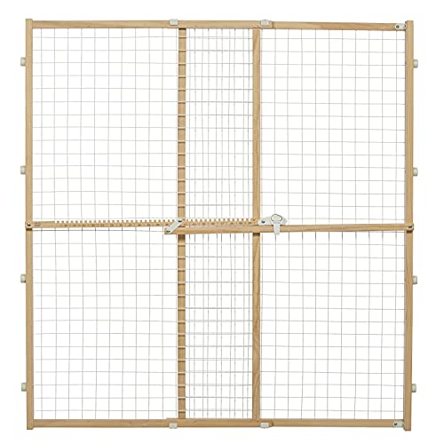 Midwest Wire Mesh Pet Safety Gate, 44 Inches Tall & Expands 29-50 Inches Wide