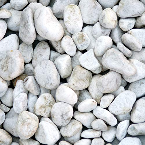 Zierkies Marmorkiesel Carrara- Weiß 25-40 mm a 25 kg