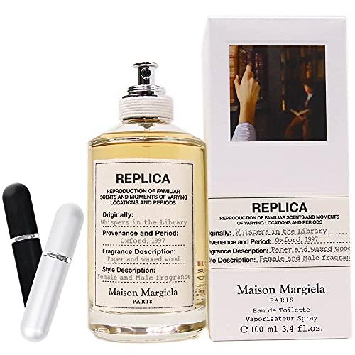 [セット品] アトマイザー付き メゾン マルジェラ Maison Margiela 香水 フレグランス レディース レプリカ EDT 100ml ウィスパーズインザライブラリー