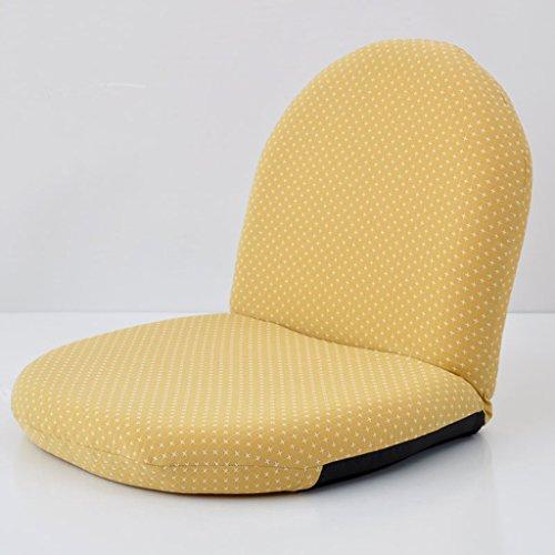 Oreiller Fu Man Li Trading Company Canapé Parfum canapé Simple Fauteuil Chaise Simple Chaise Pliante A+ (Couleur : Le Jaune)
