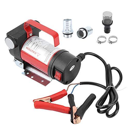 Bomba Extractora de Aceite Motor Eléctrica, Bomba Extractora de Aceite y Diésel Coche 12V Bomba de Aceite de Aspiración, Minuto 40L con Filtro