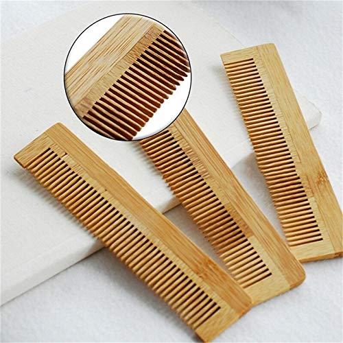 GUYUE Vintage Bambus Haar Vent Einweg Massagebürste hölzernen Kamm Bürsten Haarpflege Schönheit Haarbürste SPA Massage 1PC