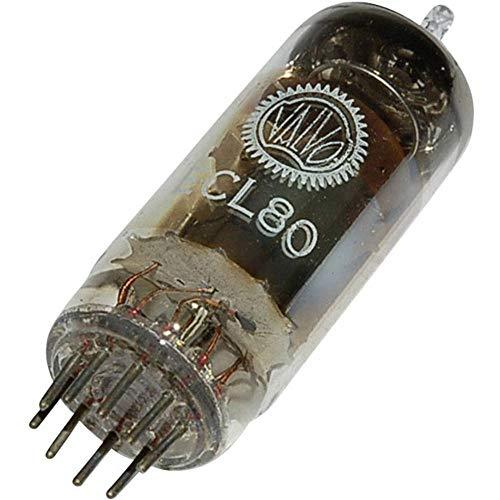 ECL 80 Elektronenröhre Triode-Pentode 100 V, 20 V 8 mA, 2 mA Polzahl: 9 Sockel: Noval Inhalt 1 St.
