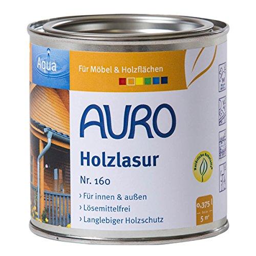 Auro Holzlasur Aqua (0,375 Liter, dunkelrot)