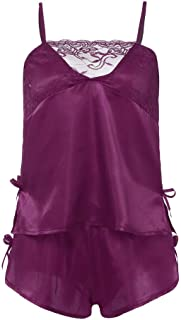 Sexy Plus Size Womens Lace Nightwear 2PC Set Passion Lingerie Babydoll