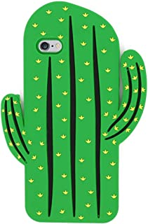 South Beach Cactus Silicone Phone Case for iPhone 8/8s 7/7s 6/6s