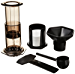AeroPress Coffee and Espresso Maker - Quickly Makes Delicious Coffee without Bitterness - 1 to 3 Cups Per Pressing (Renewed)