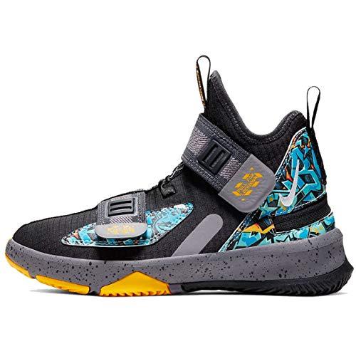 Nike Lebron Soldier Xiii Flyease Ps - Black/University Gold-Gunsmoke, Größe:13.5C