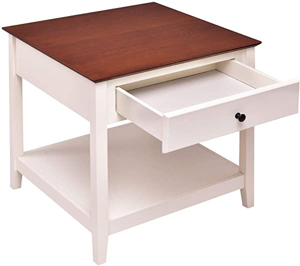 Simple Living Charleston Classic Style End Table