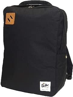Drifter(ドリフター) Square Backpack スクエア バックパック ブラック アメリカ製 [並行輸入品]