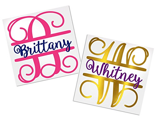 Personalized Decals for Tumblers, Your Choice of Color & Style | Decals by ADavis