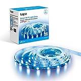 TP-Link Tapo - 5m WiFi Tiras LED de 12V, 16 Millones de Colores con 2100 mcd, Saludable para la Familia, Sincronización...