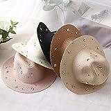 QFERW Sombrero Nueva Primavera y Verano Sombrero Mujer Cuent