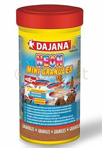 Dajana Neon Mini granulés de nourriture pour poisson Premium Granulés 250 ml