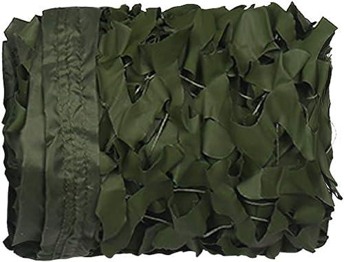 Filet De Camouflage pour écran Solaire - Crypté - Armée De Camouflage De Défense Aérienne en Plein Air - Filet De Camouflage De Bache Et Abri De Jardin,6x8m