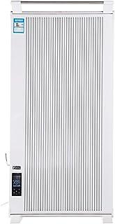 Radiador eléctrico MAHZONG Calentador eléctrico montado en la Pared Vertical del radiador Ahorrador de energía y Ahorro de energía de la Fibra de Carbono del hogar