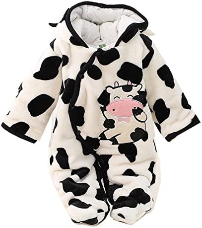 Gaorui Newborn Baby Jumpsuit Outfit Hoody Coat Winter Infant Rompers Toddler Clothing Bodysuit product image