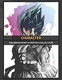 Coloring Book & Poster Collection: Character Gogeta Illustration From Anime Dragon Ball Anime & Manga
