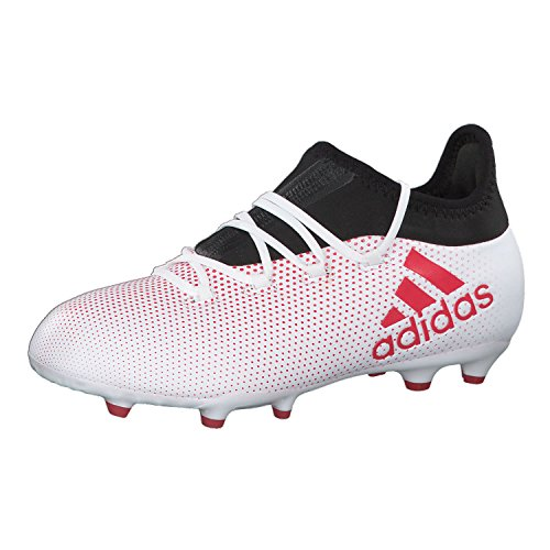 adidas adidas Unisex-Kinder X 17.1 FG Fußballschuhe, Grau (Grey/Reacor/Cblack), 35.5 EU
