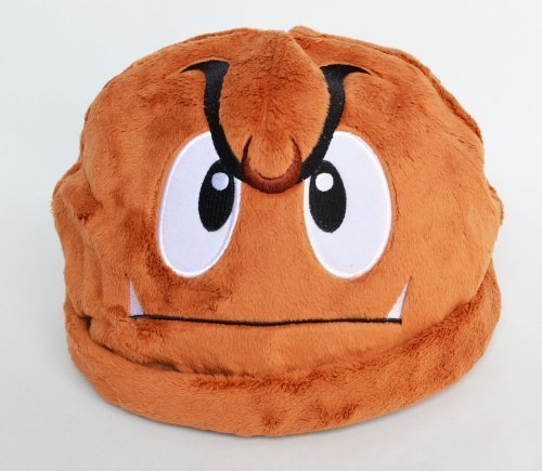 『スーパーマリオ クリボー 帽子 おもしろ コスプレ グッズ』のトップ画像